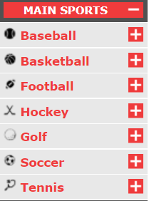 BetOnline Main Sports