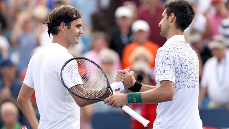 Roger Federe & Novak Djokovic