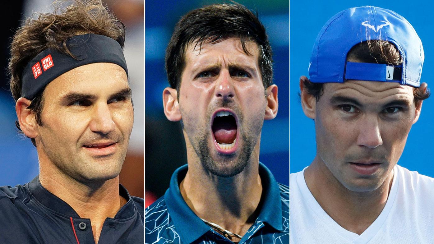 Roger Federer - Novak Djokovic - Rafael Nadal