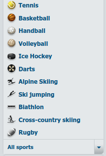 List of Sports