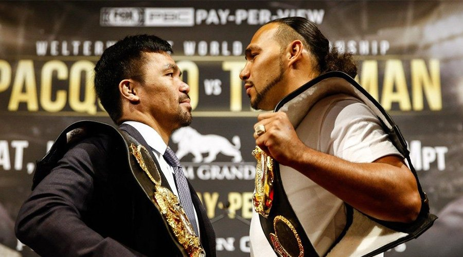 Manny Pacquiao & Keith Thurman