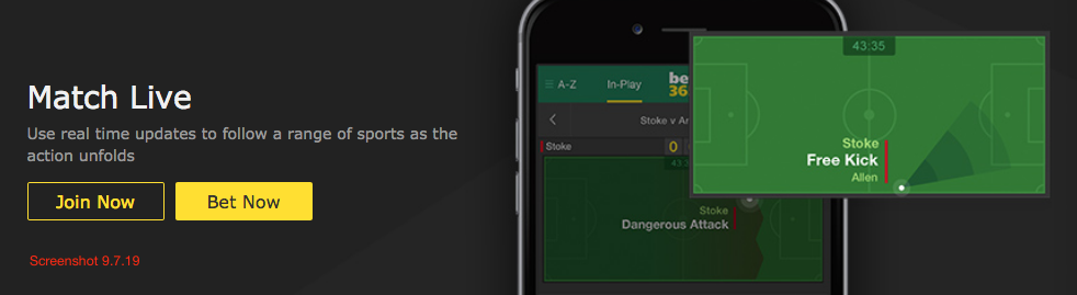 bet365 Match Live