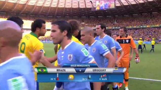 2013 コンフェデ杯 ブラジル対ウルグアイ