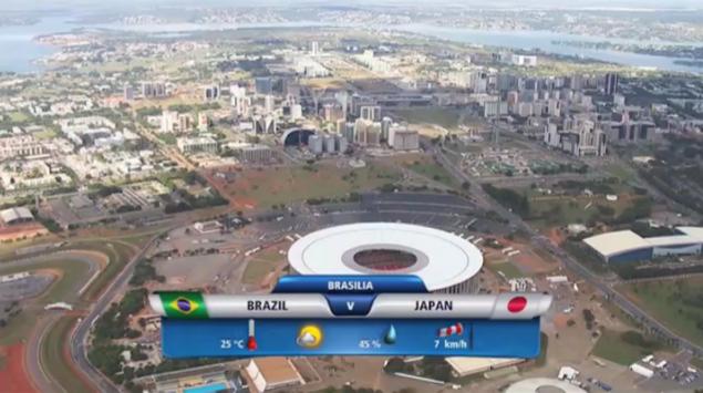 2013 コンフェデ杯 日本対ブラジル