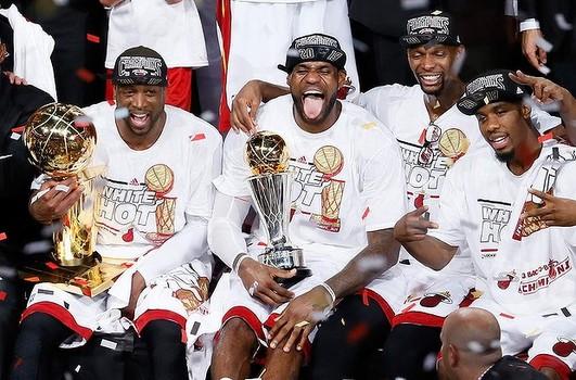 2013 NBA 王者 マイアミ・ヒート