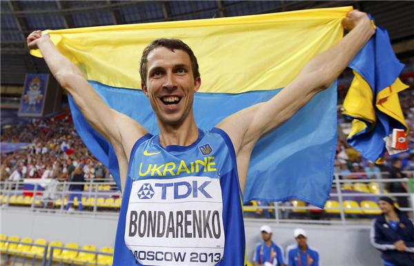 2013 世界陸上 モスクワ ボーダン・ボンダレンコ