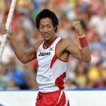 山本聖途 2013 世界陸上 男子棒高跳び