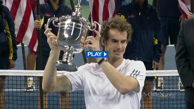 2012 全米オープン 決勝戦のダイジェスト映像