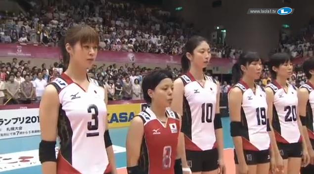 2013 バレーボールワールドグランプリ 女子バレーボール 日本対アメリカ