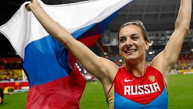 エレーナ・イシンバエワ 2013 世界陸上 女子棒高跳び