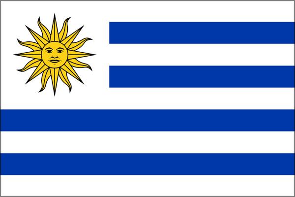 ウルグアイ国旗
