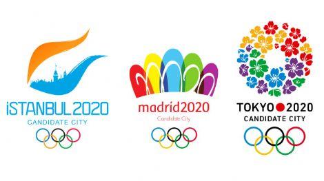 2020年夏季五輪立候補地 ロゴ