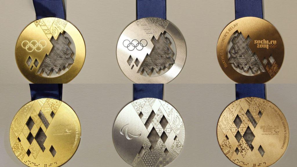 ソチ五輪金銀銅メダル