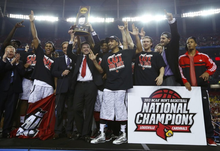 2013年 NCAAトーナメント優勝時 写真