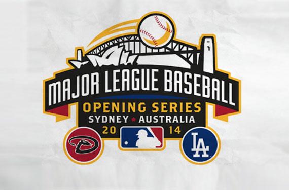 MLB開幕戦ロゴ