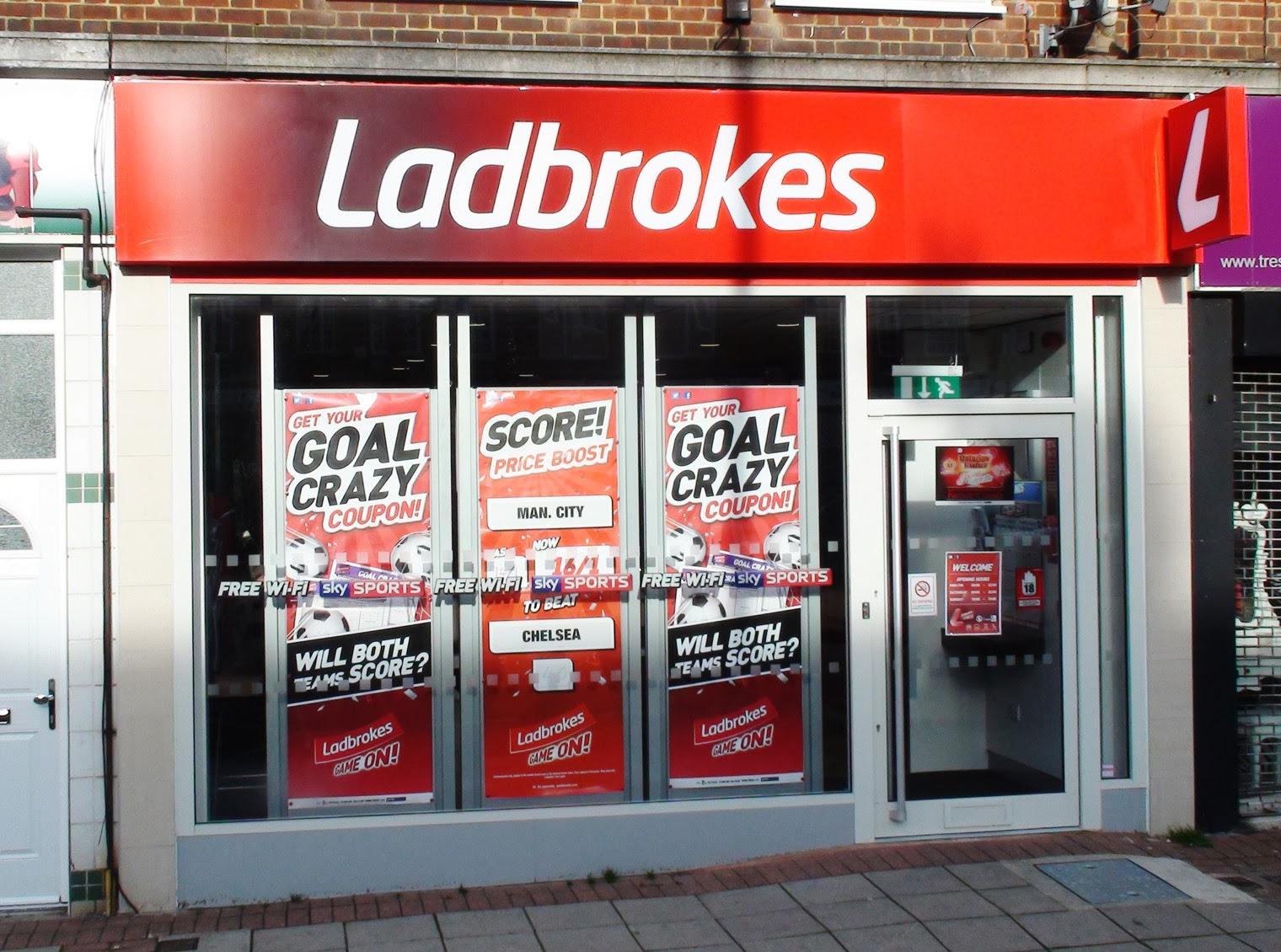 Ladbrokes 路面店写真