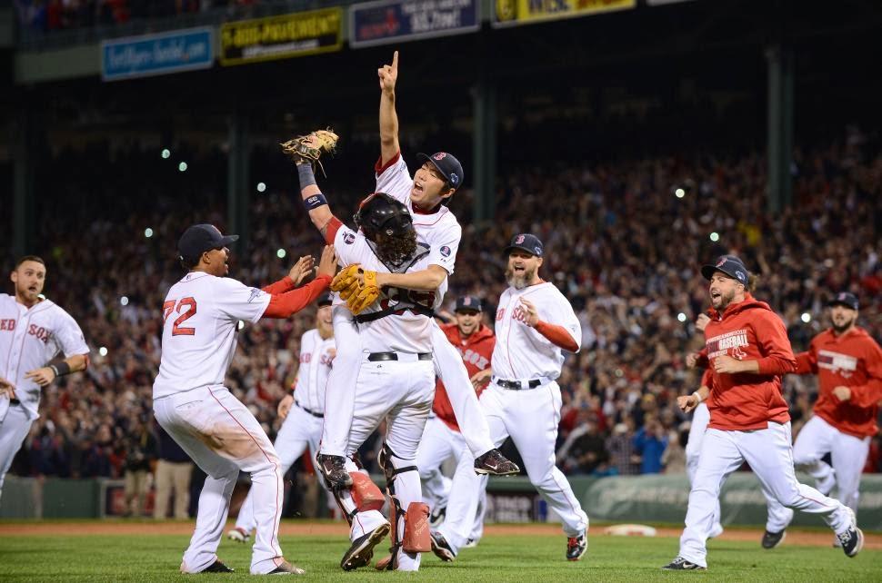 MLBワールドシリーズ優勝写真(2013年)