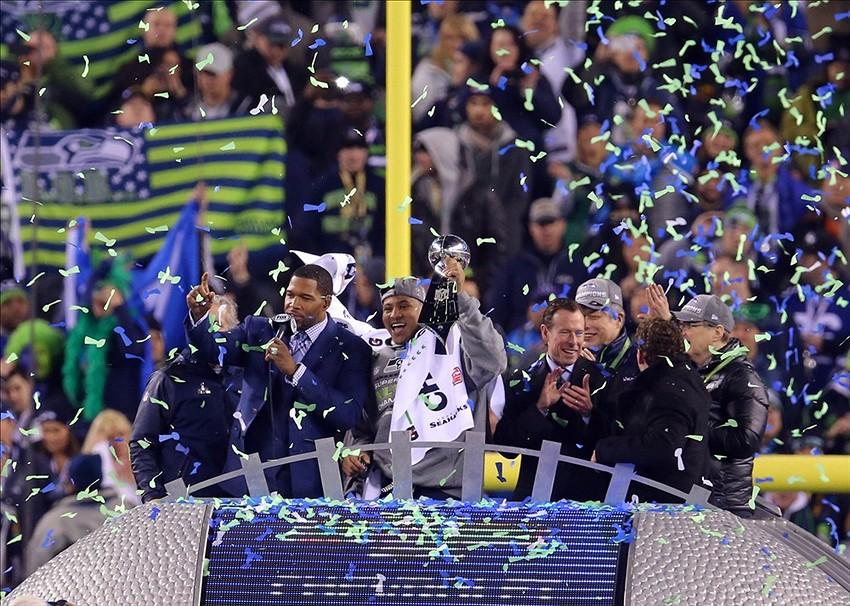 2014年NFLスーパーボウル優勝 - シアトル・シーホークス