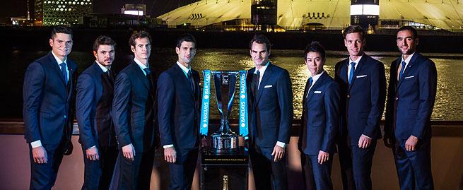 2014年ATPワールドツアーファイナル進出者