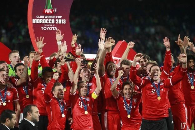 2013年バイエルン・ミュンヘン優勝の写真