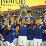 アジアカップ日本優勝写真