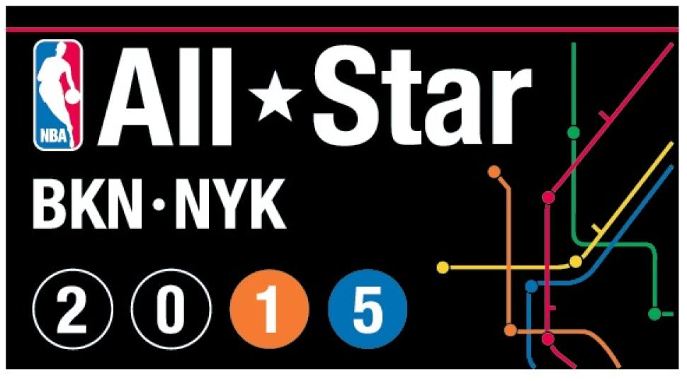 NBAオールスター2015 ロゴ