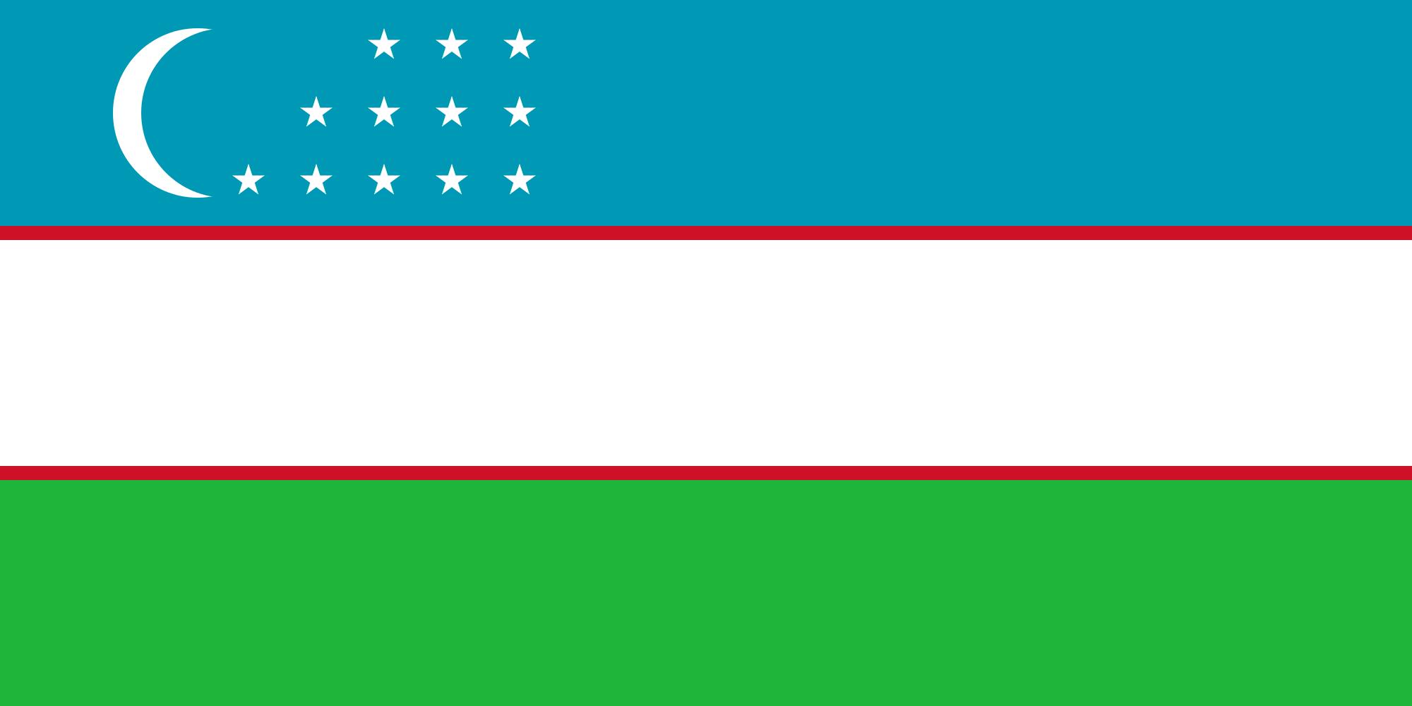 ウズベキスタン国旗
