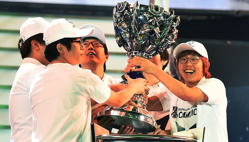 League of Legends World Championship 2014優勝写真