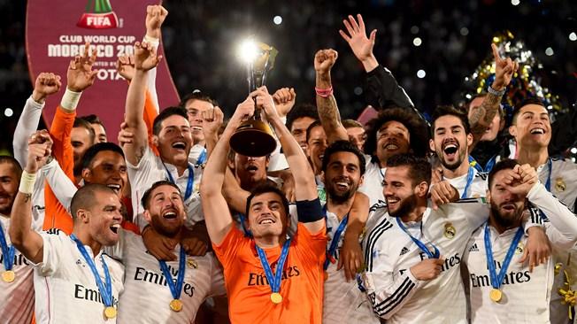 FIFAクラブW杯2014優勝写真