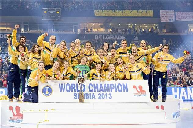 2013年ブラジル優勝写真