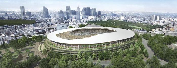 東京五輪「新国立競技場」1つ目の案