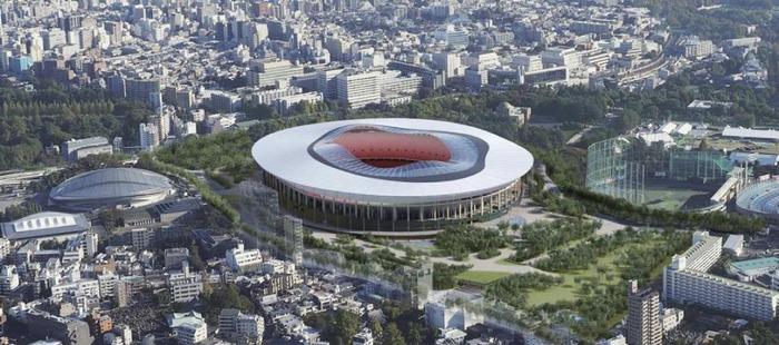東京五輪「新国立競技場」2つ目の案