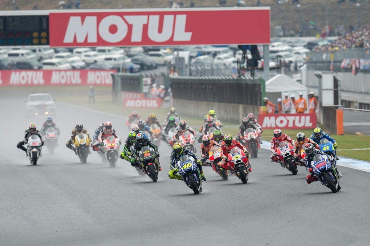 日本GPのレース写真