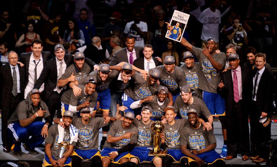 NBA2015優勝写真