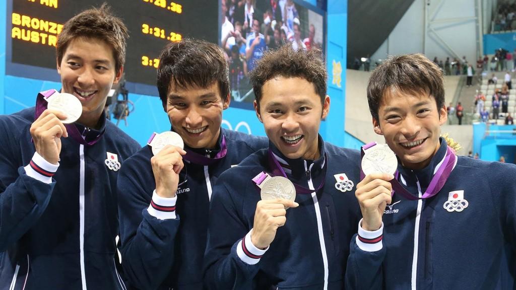 ロンドン五輪男子メドレーリレー