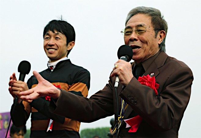キタサンブラックの馬主・北島三郎氏