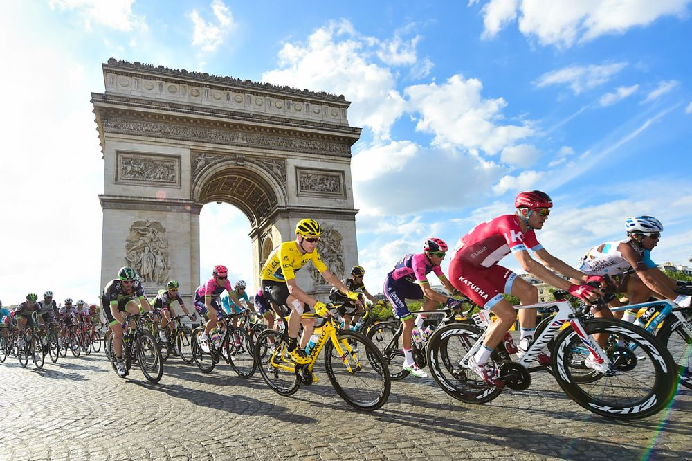 Tour de France 2016 - 24/07/2016 - Etape 21 - Chantilly / Paris Champs-Elysées (113 km) - FROOME Christopher (TEAM SKY) - Dans le peloton