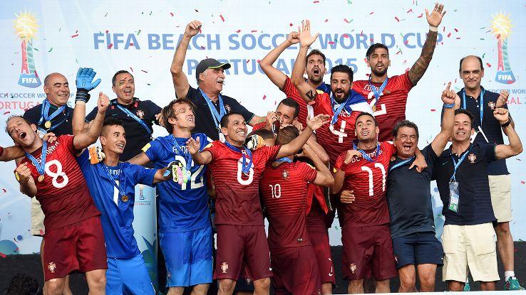 2015年ポルトガル代表(優勝時)