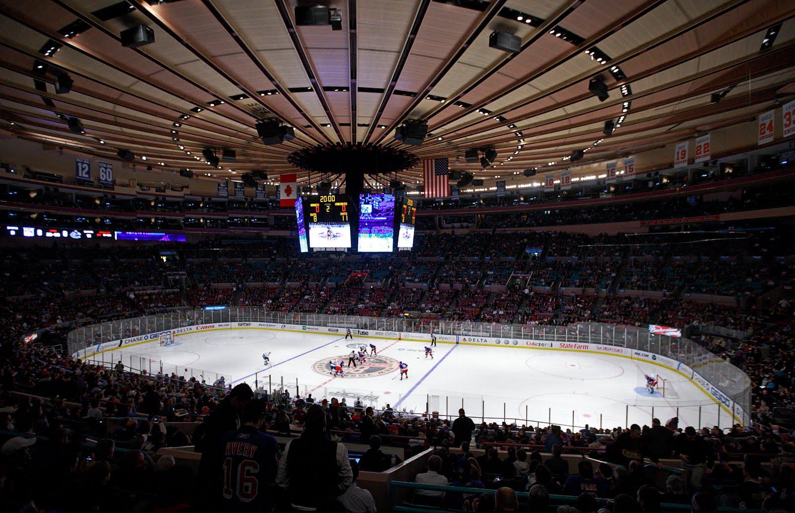 マディソン・スクエア・ガーデン(NHL開催時)