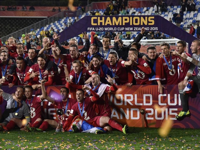 セルビア代表U-20(2015年大会優勝時)