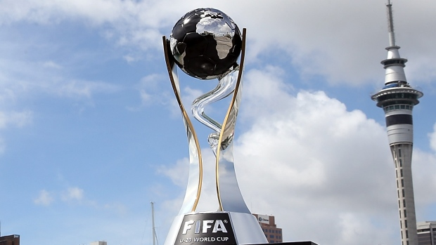U-20ワールドカップ優勝杯