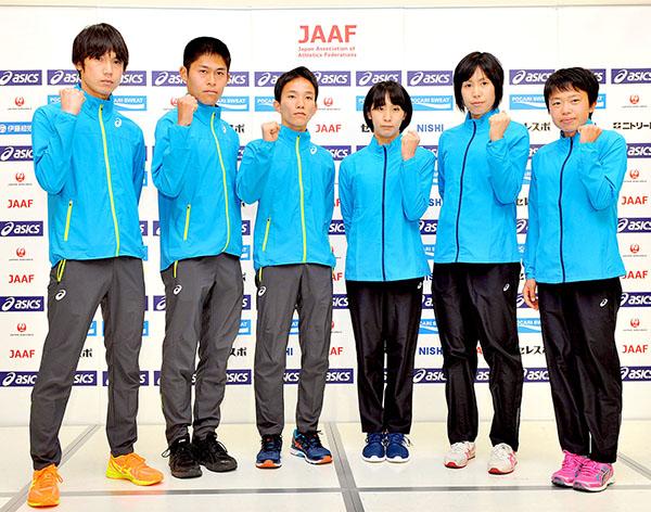 世界陸上2017マラソン日本代表選手