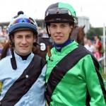 ミルコ・デムーロ騎手とクリスチャン・デムーロ騎手