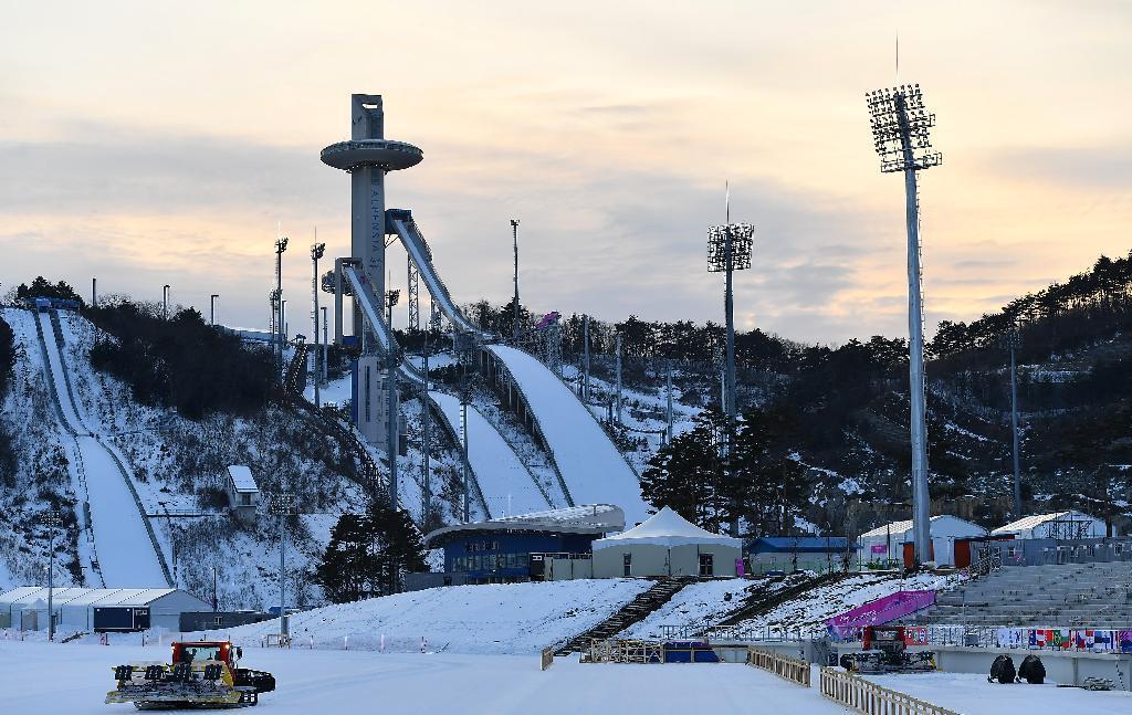 アルペンシアスキージャンプ場(平昌五輪スキージャンプ会場)