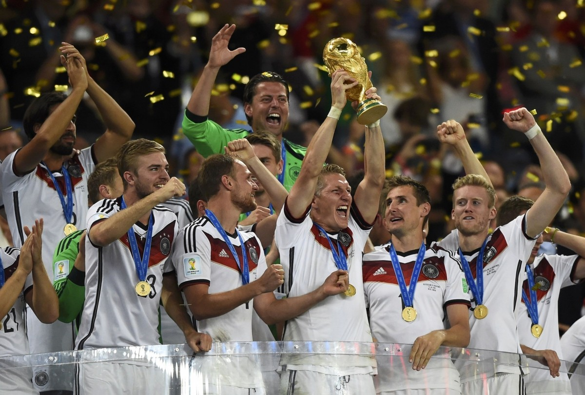 2014年ブラジルW杯を制したドイツ