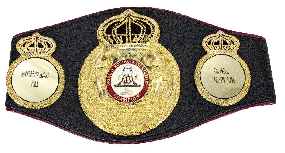 WBAライトフライ級チャンピオンベルト