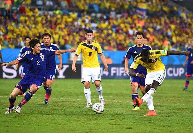 日本代表(2014年W杯コロンビア戦)