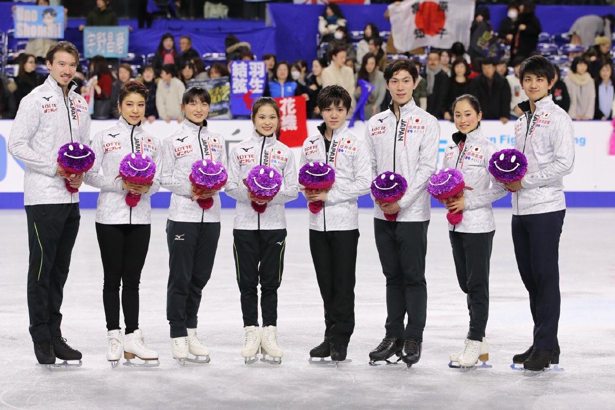 フィギュアスケート日本代表選手団