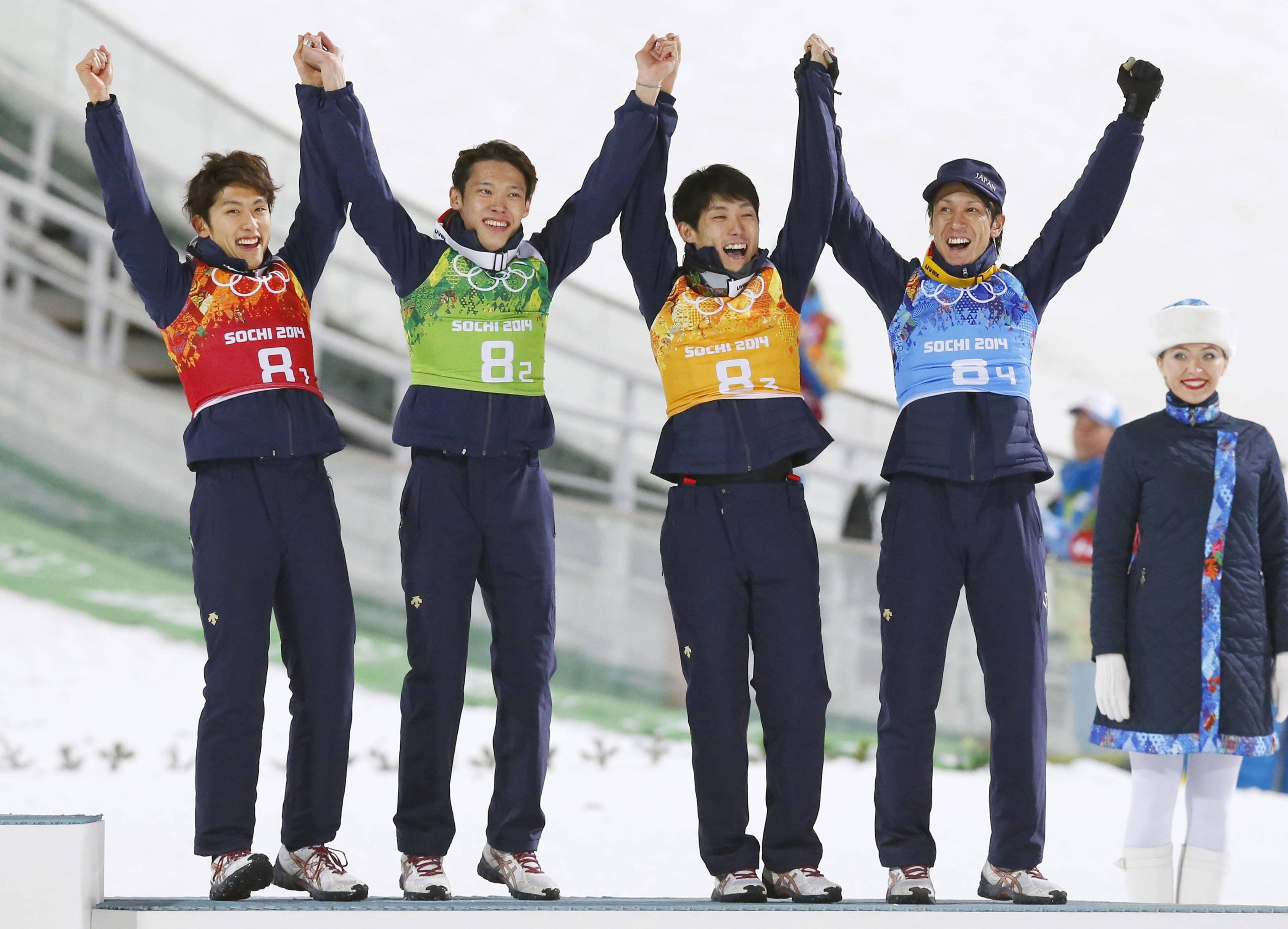 男子ラージヒル日本代表(ソチ五輪)