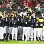 福岡ソフトバンクホークス(昨年度優勝セレモニー)